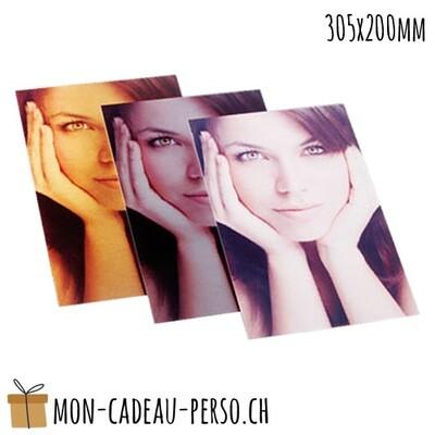 Plaque aluminium - Sublimation - 305x200mm