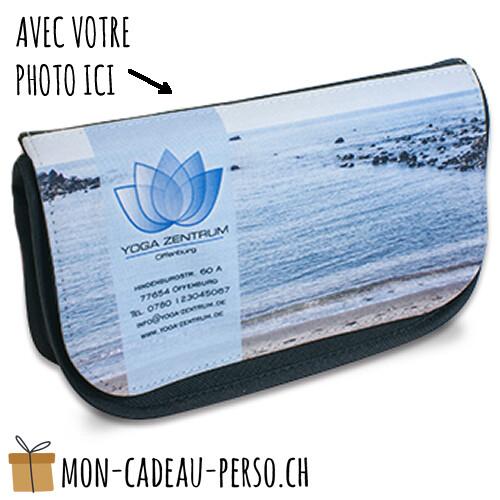 Pochette à produits de beauté PARIS personnalisée - 220*130*70mm - Sublimation