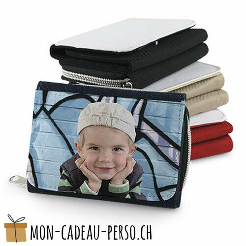 Portefeuille en textile personnalisé - 120x85 - Sublimation