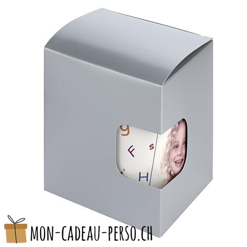 Emballage - Carton Cadeau - MUG - Argent