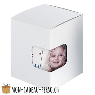 Emballage - Carton Cadeau - MUG - Blanc