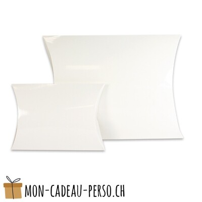 Boîte cadeau en carton - Grand - 320 x 240 x 60mm - Blanc