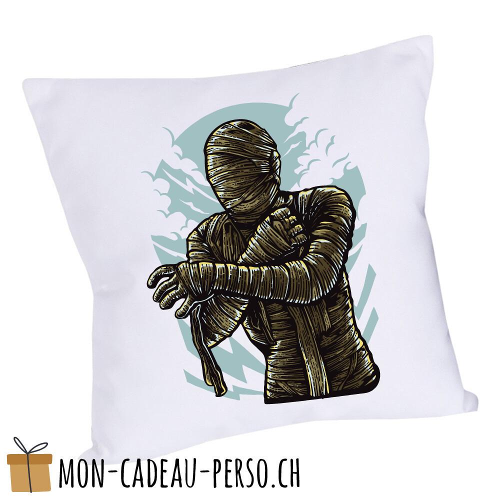 Coussin pré-imprimé - 40x40 - Housse couleur blanche - The Mummy