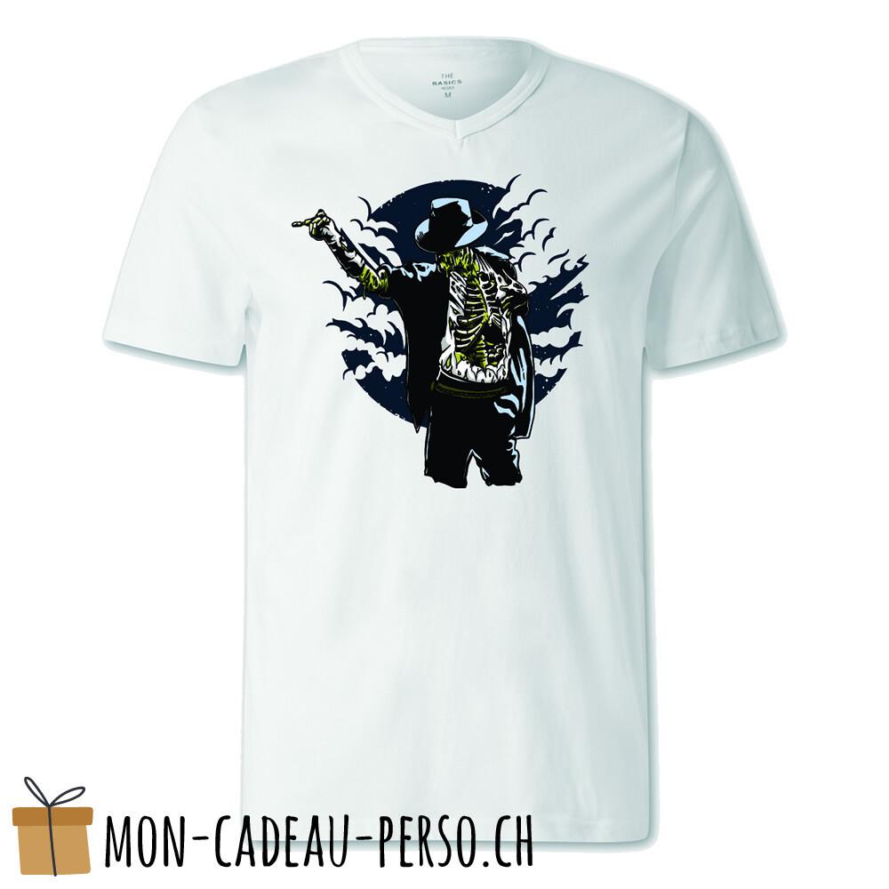 T-shirt pré-imprimé -  blanc - FEMME - Zombie Pop