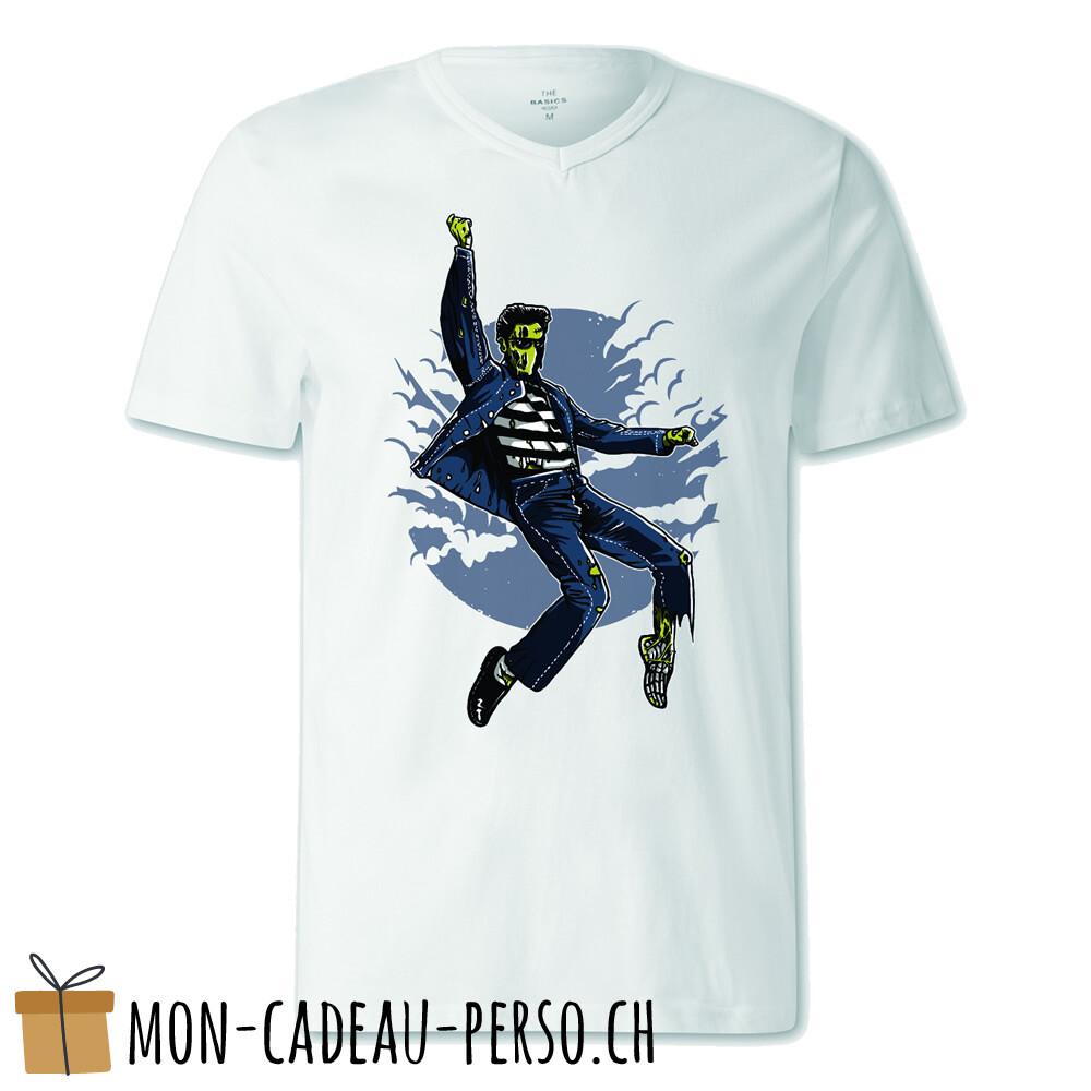 T-shirt pré-imprimé -  blanc - FEMME - Zombie King