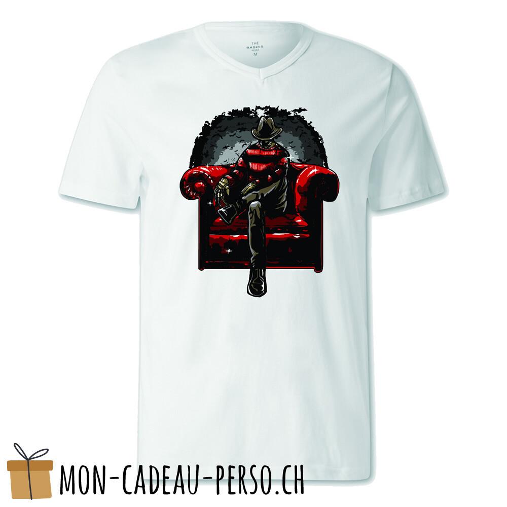 T-shirt pré-imprimé -  blanc - FEMME - Nightmare Side