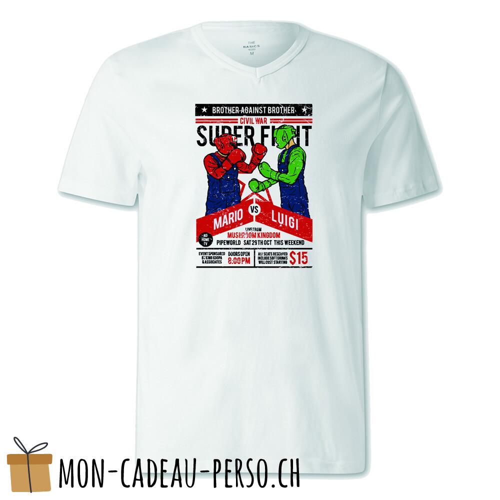 T-shirt pré-imprimé -  blanc - FEMME - Brother Against Brother