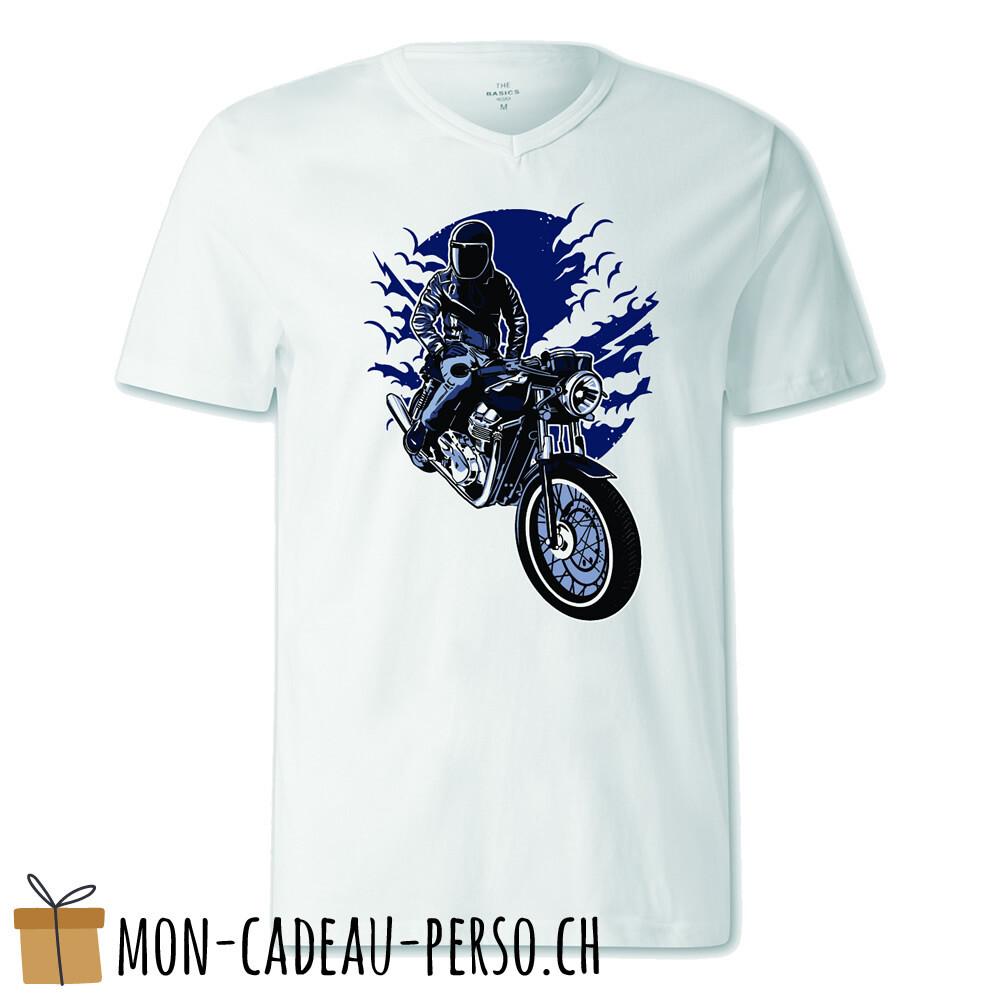 T-shirt pré-imprimé -  blanc - FEMME - Night Rider