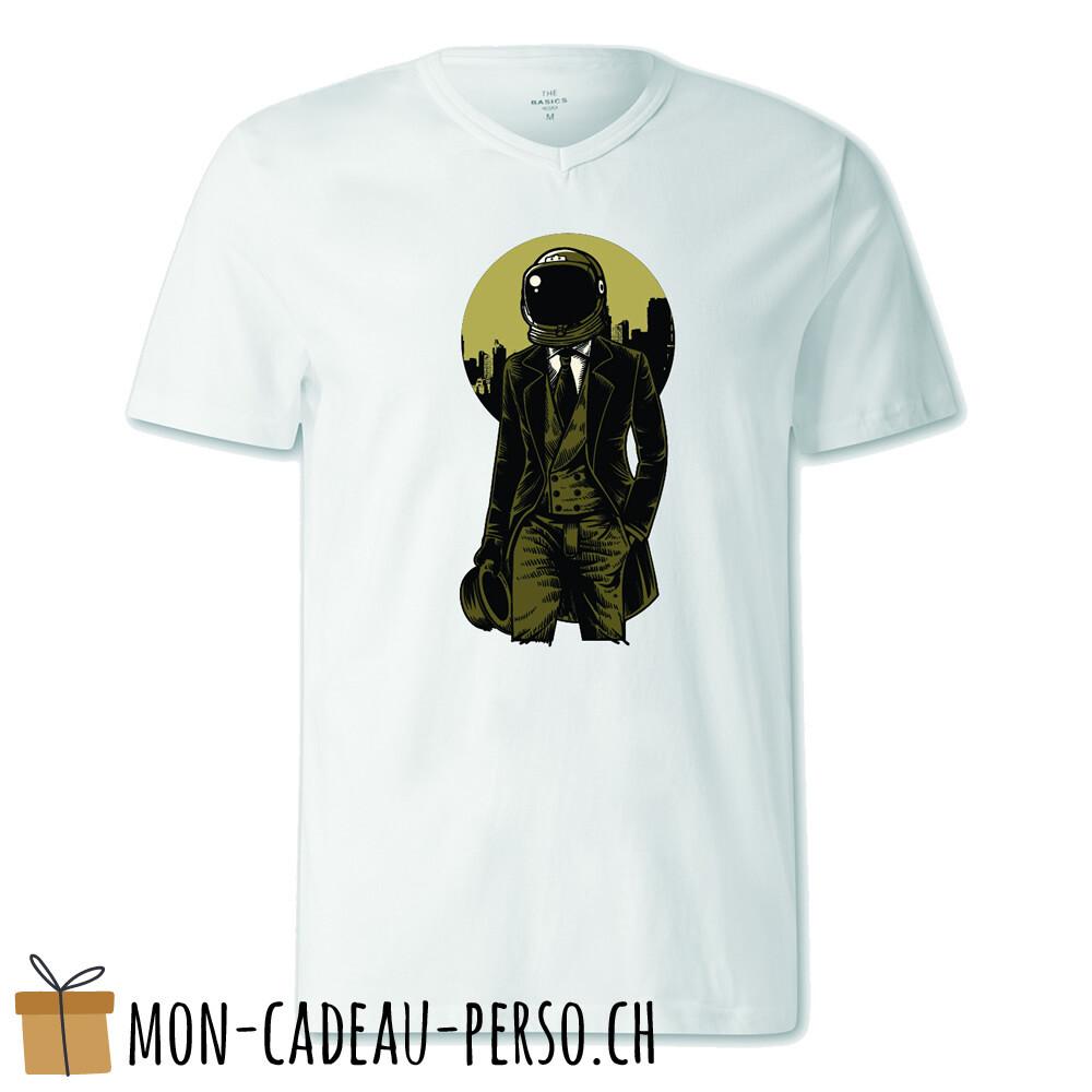 T-shirt pré-imprimé -  blanc - FEMME - Classic Astronaut