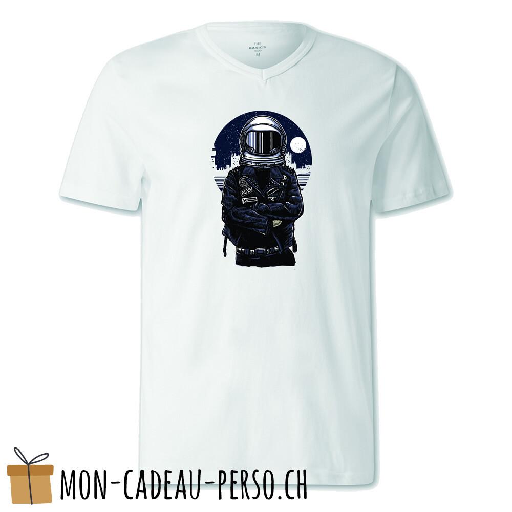 T-shirt pré-imprimé -  blanc - FEMME - Astronaut Rebel
