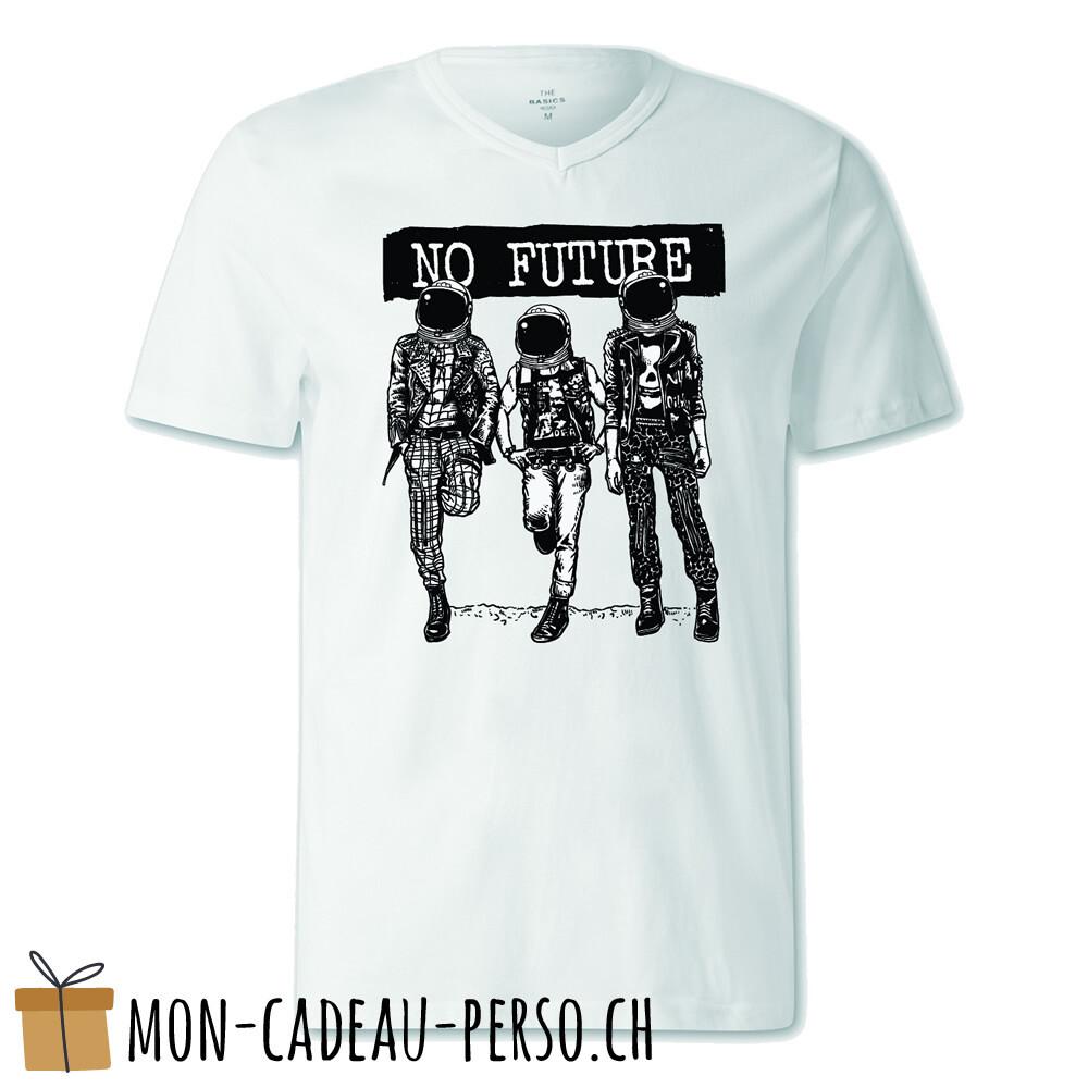 T-shirt pré-imprimé -  blanc - FEMME - No Future
