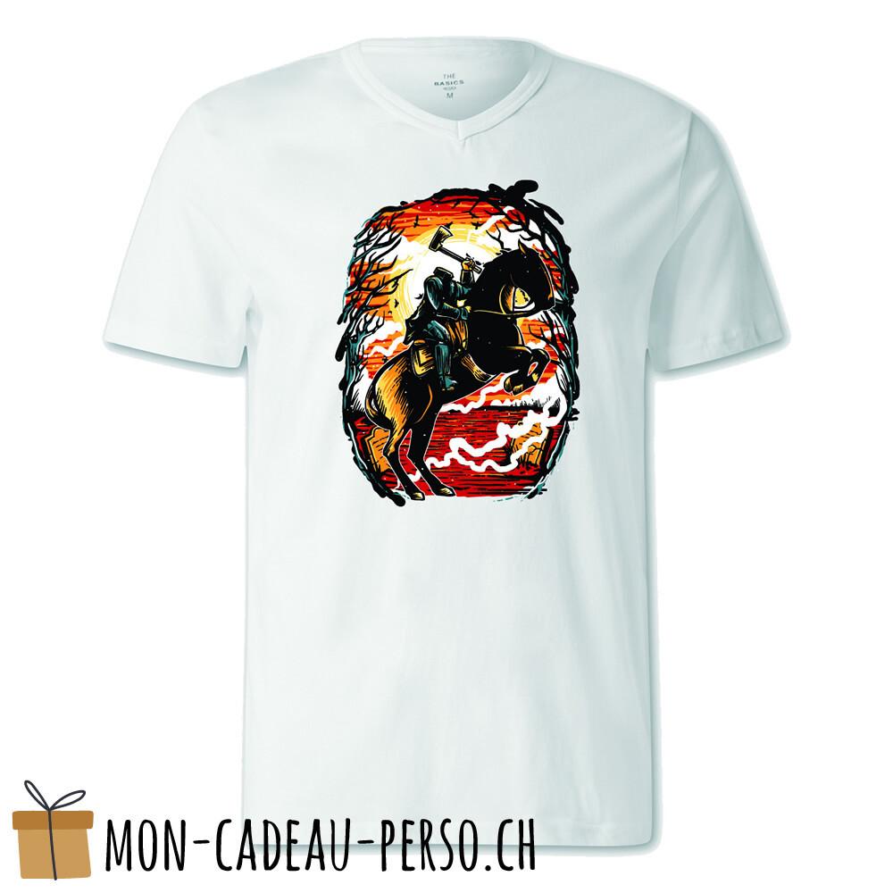 T-shirt pré-imprimé -  blanc - FEMME - Headless Horseman