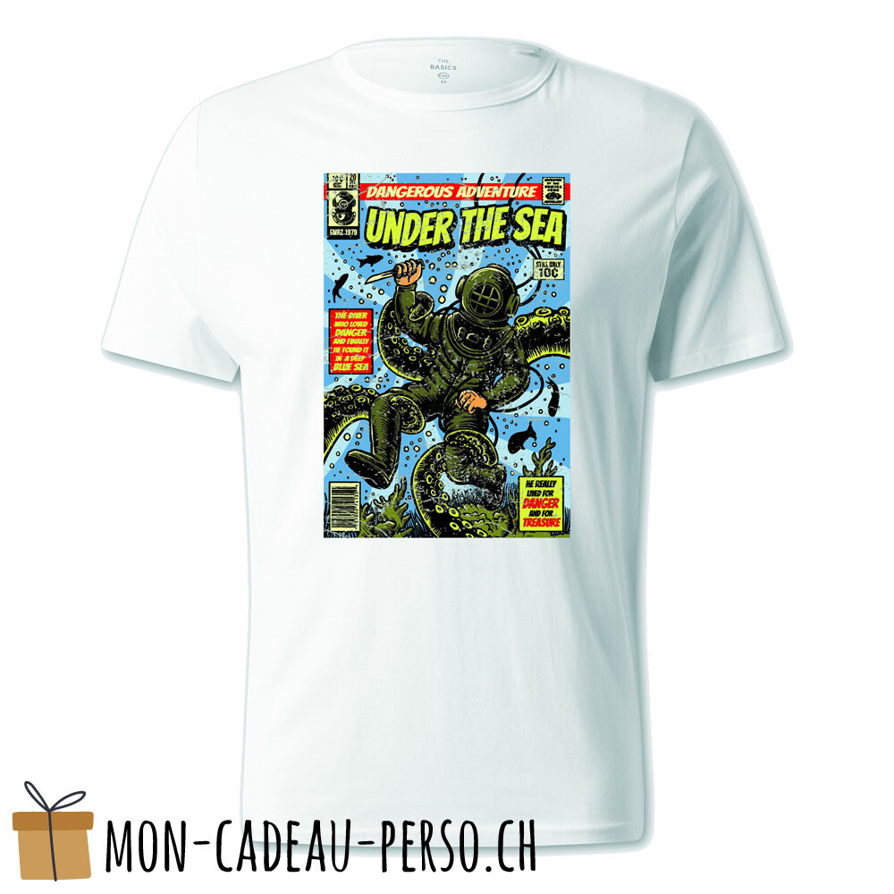 T-shirt pré-imprimé -  blanc - UNISEXE - Under The Sea