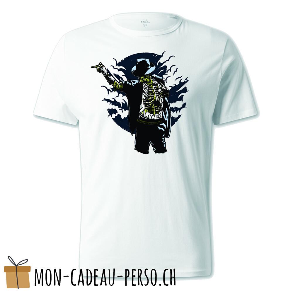 T-shirt pré-imprimé -  blanc - UNISEXE - Zombie Pop
