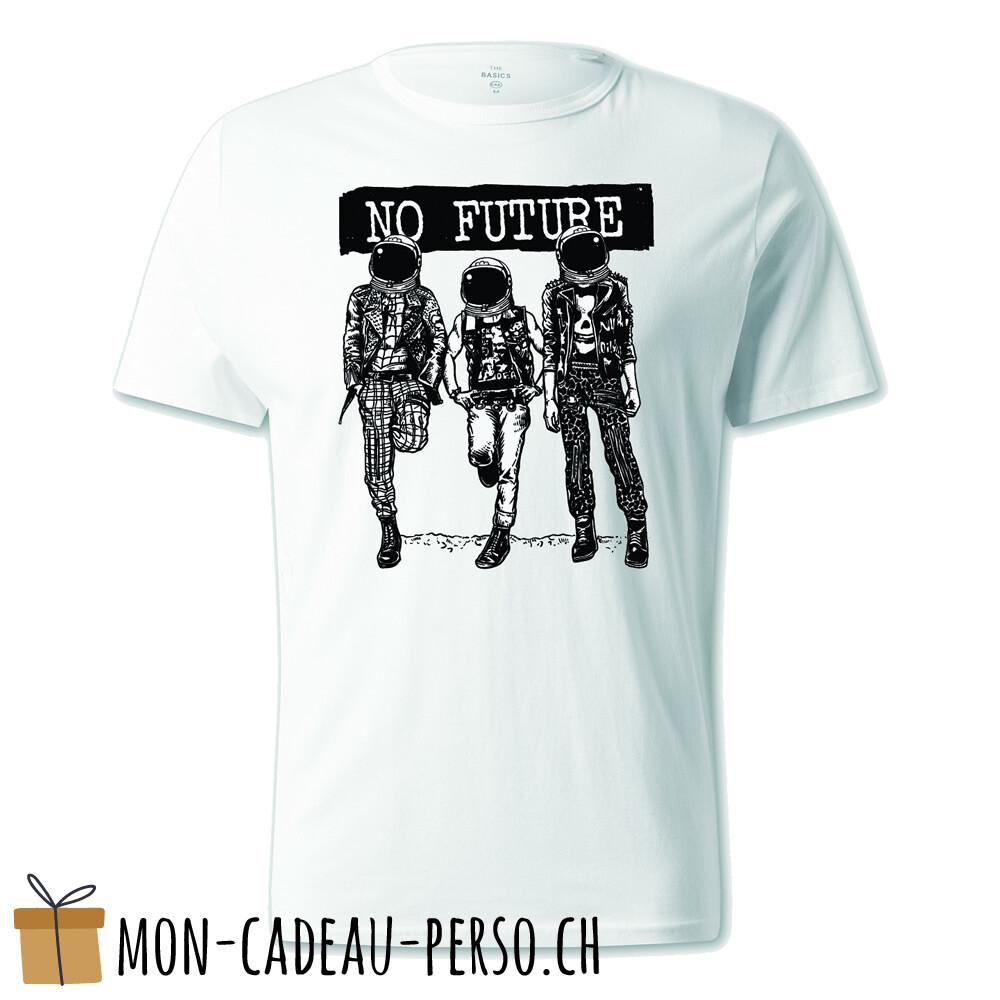T-shirt pré-imprimé -  blanc - UNISEXE - No Future