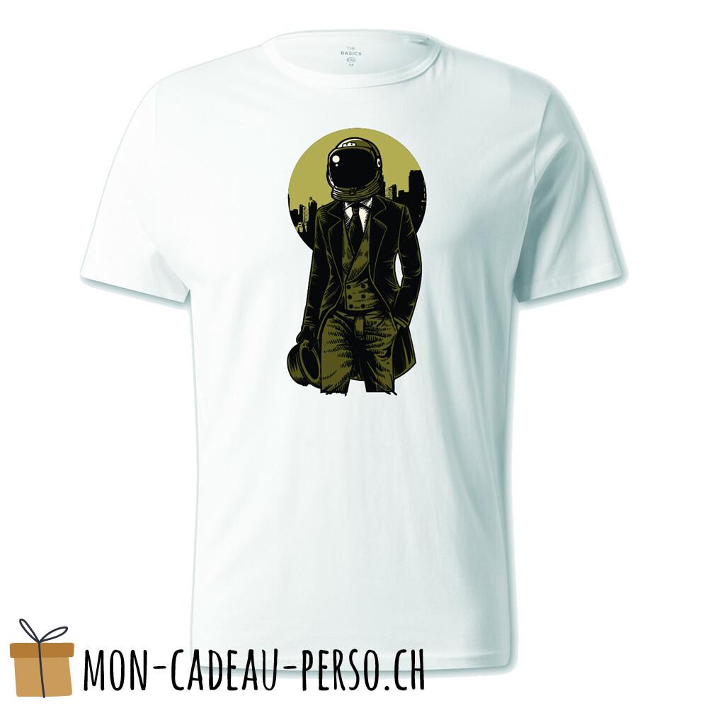 T-shirt pré-imprimé -  blanc - UNISEXE - Classic Astronaut
