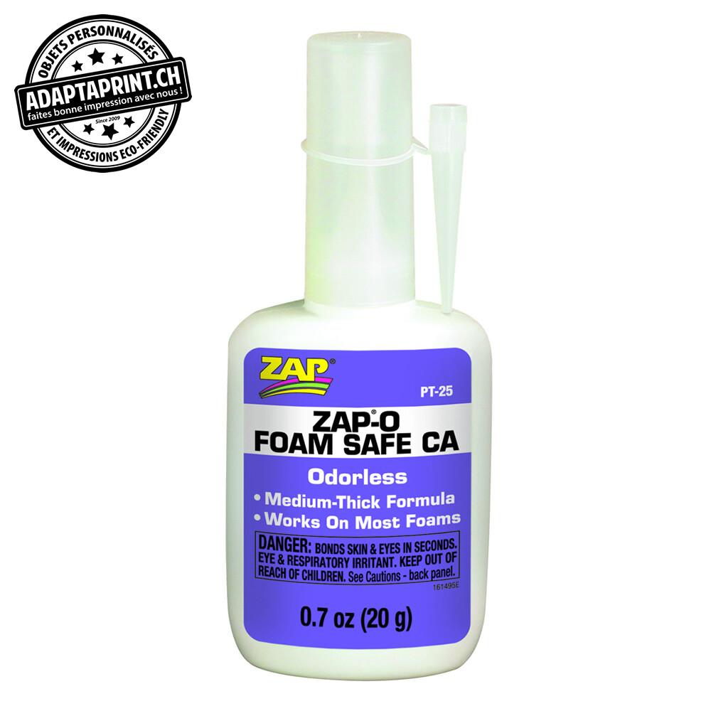 Colle - ZAP-O Foam Safe - CA - 20g (0.7 oz.)