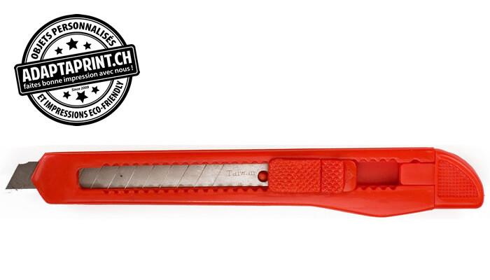 Outil - Cutter utilitaire - K10 - Light Duty - Plastique - Lames 9mm de large