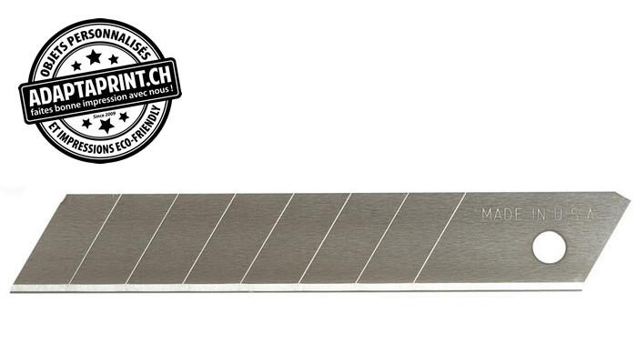 Outil - Lames de cutter - Lames fractionable en 8 points - 18mm (5 pces) - Pour cutter K13, K815 et K850