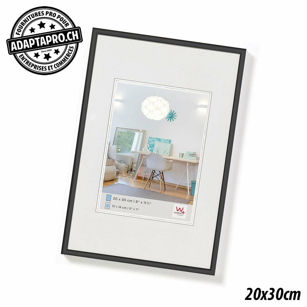 Cadre Photo Plastique - LifeStyle - 20x30cm - Noir