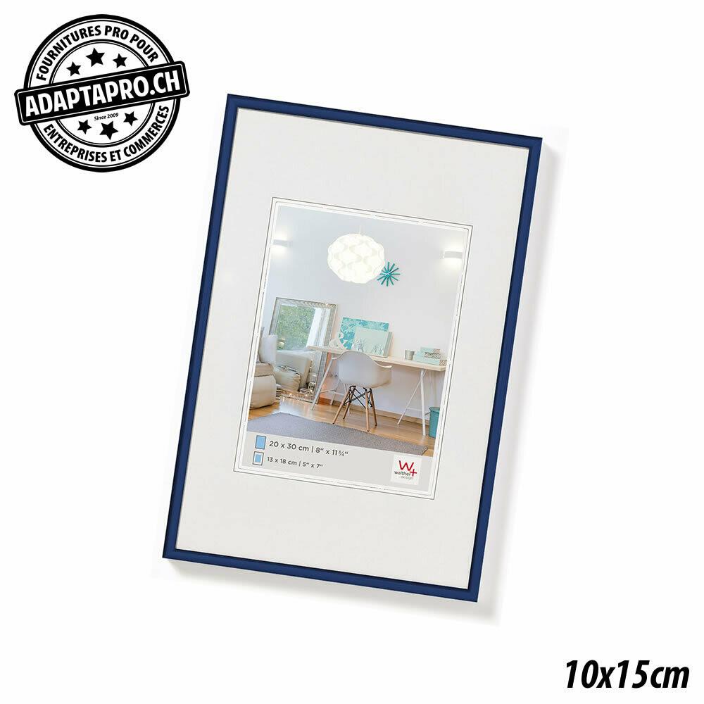 Cadre Photo Plastique - LifeStyle - 10x15cm - Bleu