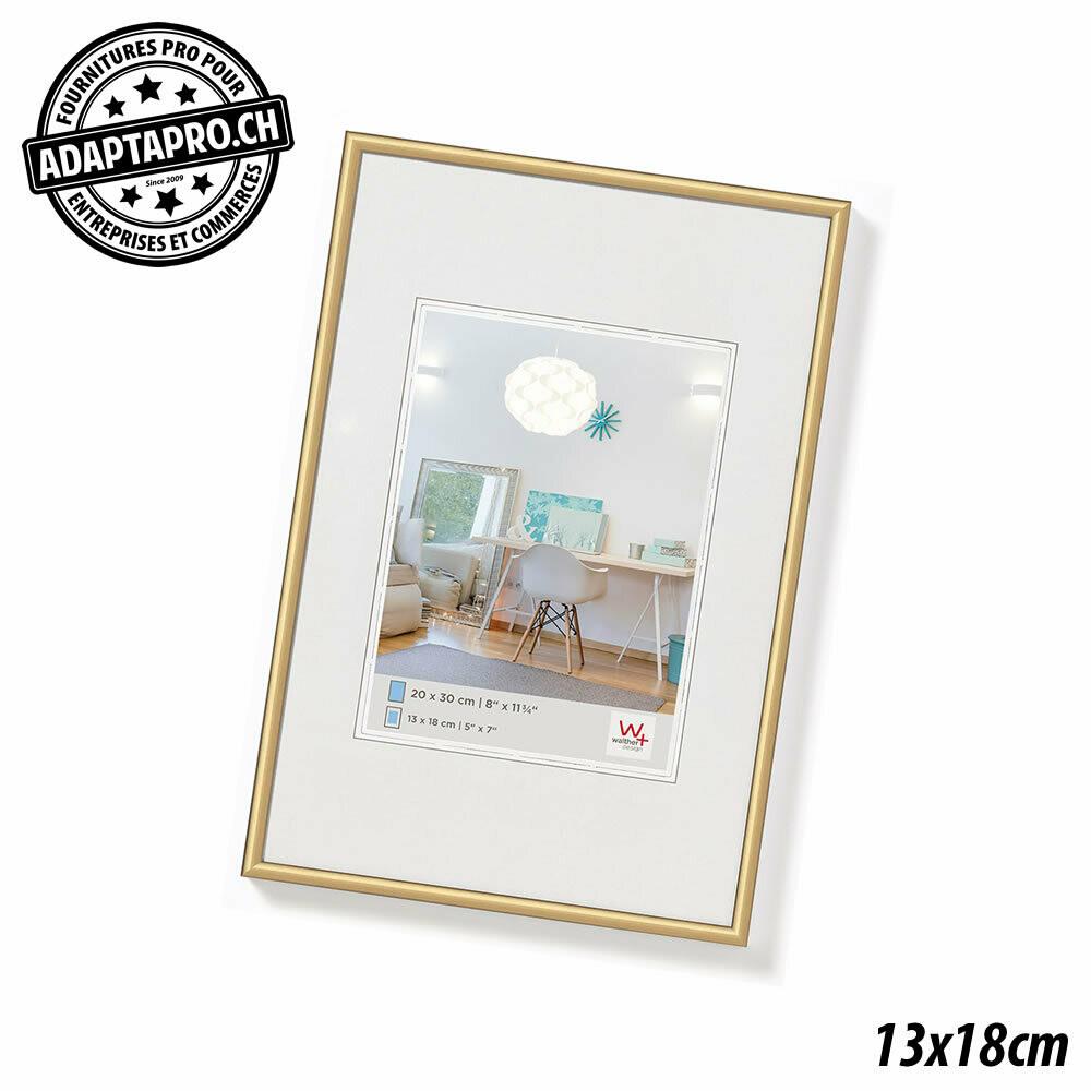 Cadre Photo Plastique - LifeStyle - 13x18cm - Doré