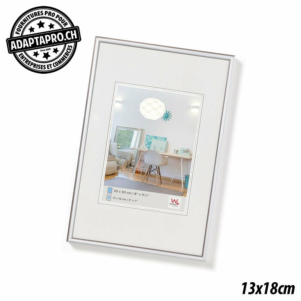 Cadre Photo Plastique - LifeStyle - 13x18cm - Argenté