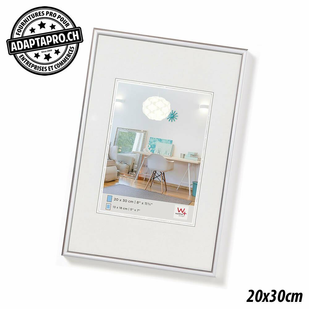 Cadre Photo Plastique - LifeStyle - 20x30cm - Argenté