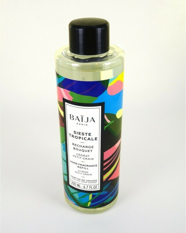 Baija Sieste tropicale Recharge bouquet parfumé – 200ml