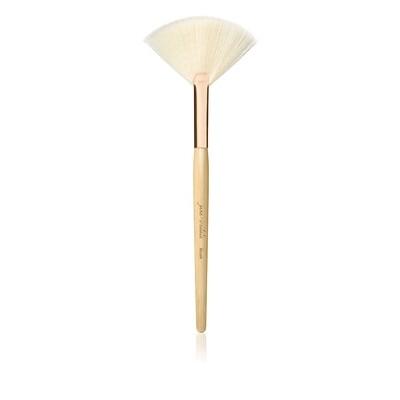 Blush Brush white fan