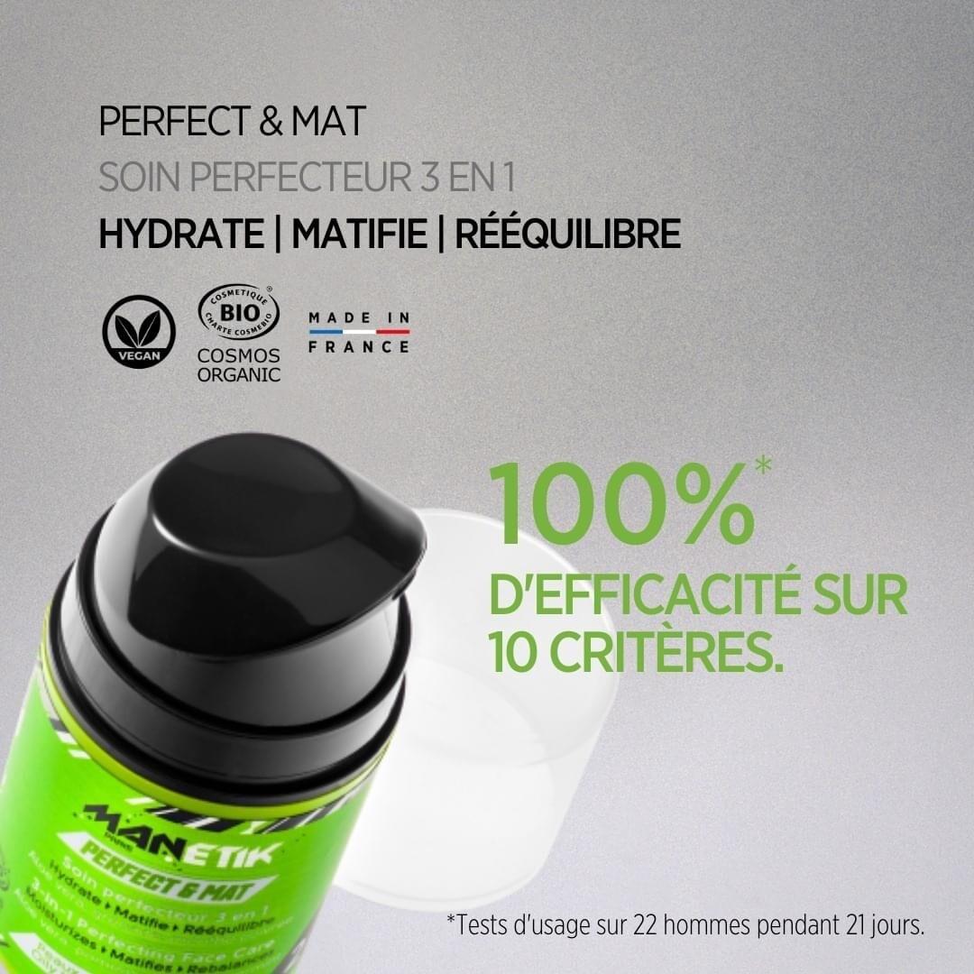 Manetik  PERFECT & MAT Soin perfecteur 3 en 1
