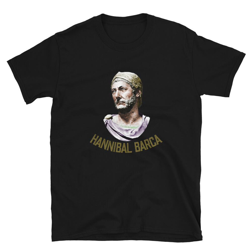 Hannibal Barca 247-183 BC The Greatest General Basic Softstyle T-Shirt