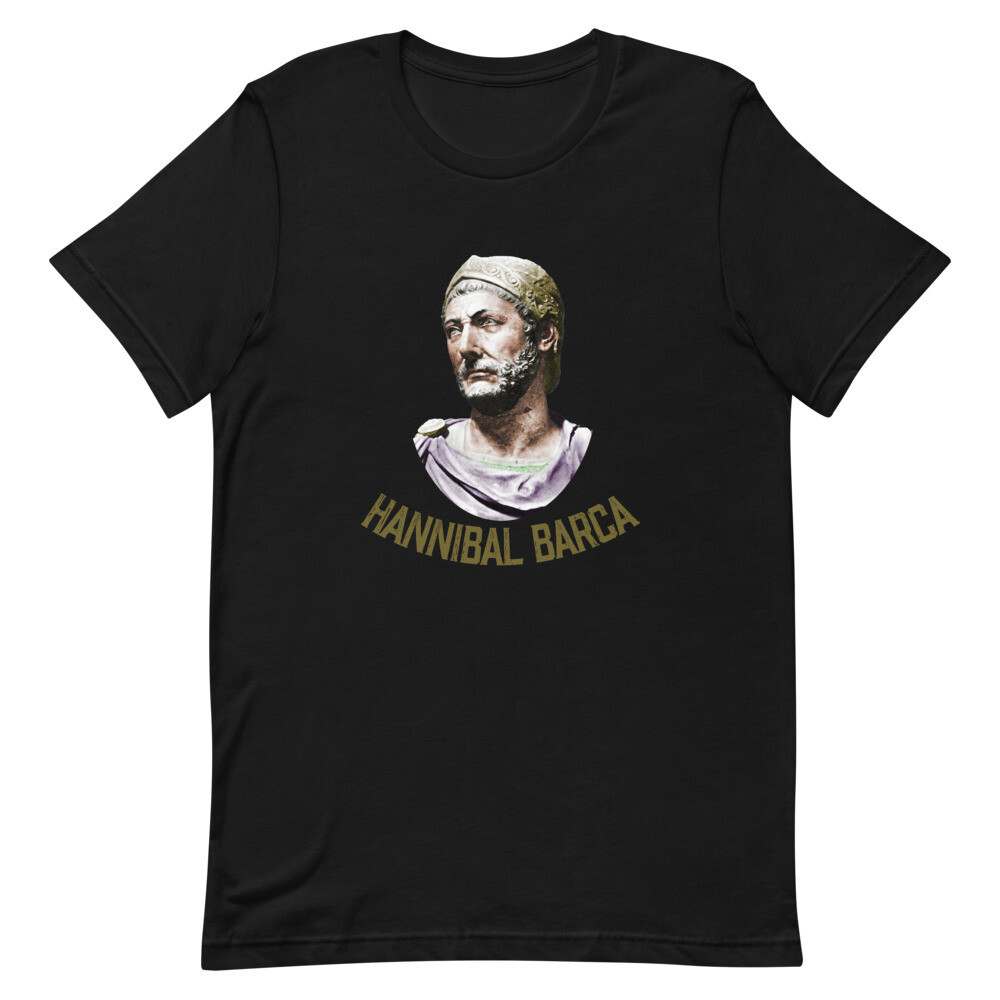 Hannibal Barca 247-183 BC The Greatest General Premium T-Shirt