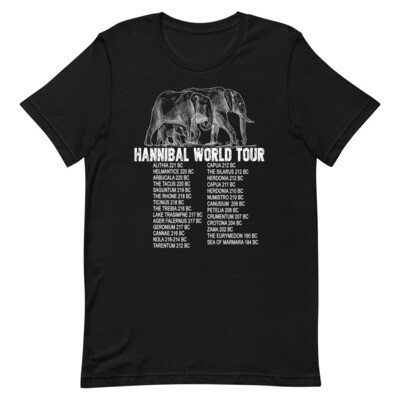 Hannibal Barca World Tour Premium T-Shirt