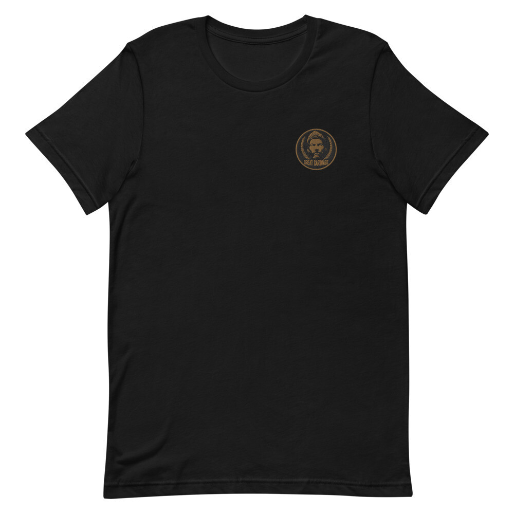 Hannibal Barca World Tour Premium Embroidered T-Shirt
