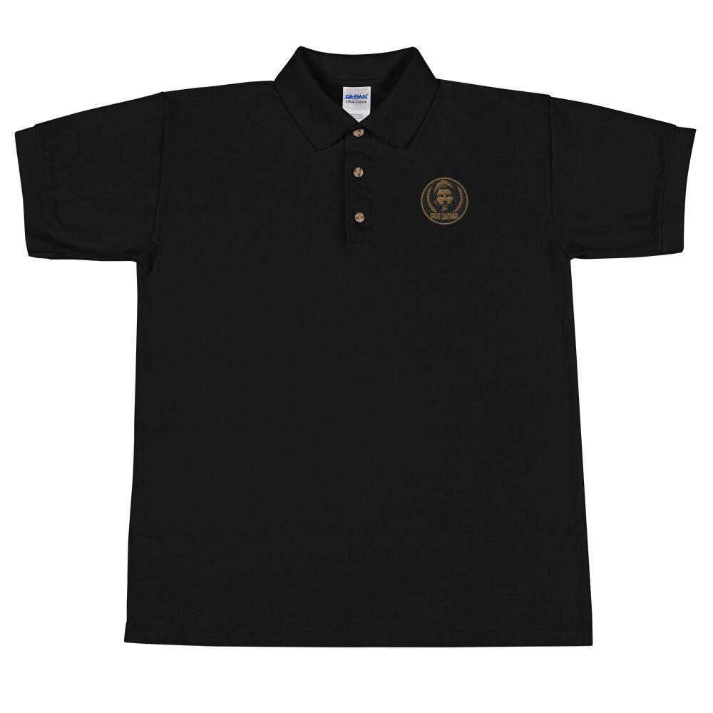 Hannibal Barca Embroidered Polo Shirt