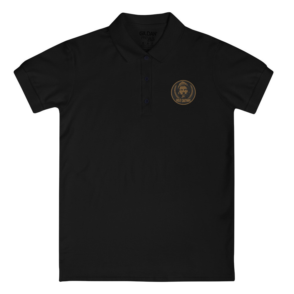 Hannibal Barca Embroidered Women's Polo Shirt