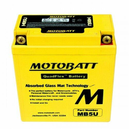 Batteria per moto MB5U