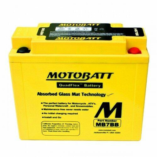 Batteria per moto MB7BB