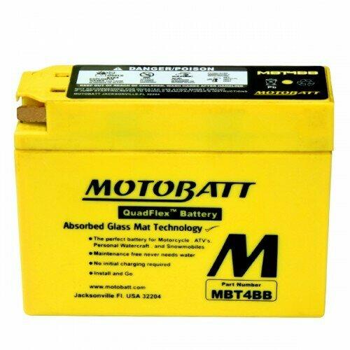 Batteria per moto MBT4BB