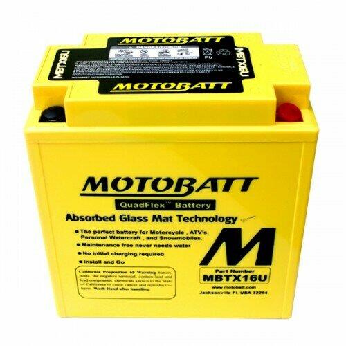 Batteria per moto MBTX16U