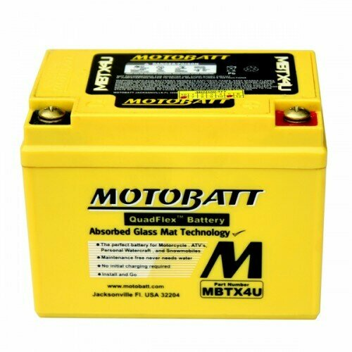 Batteria per moto MBTX4U