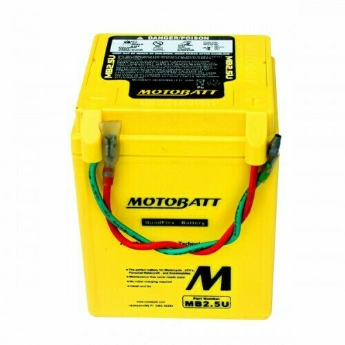 Batteria per motocicli MB2.5U