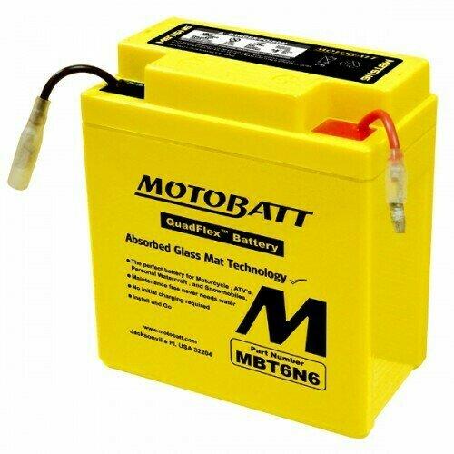 Batteria per moto MBT6N6