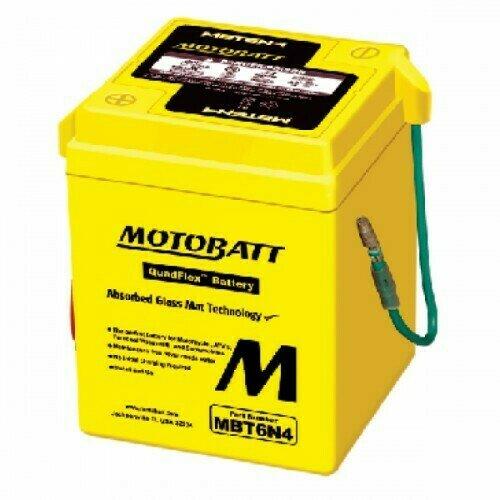 Batteria per moto MBT6N4