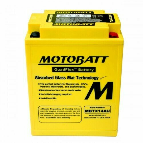Batteria per moto MBTX14AU
