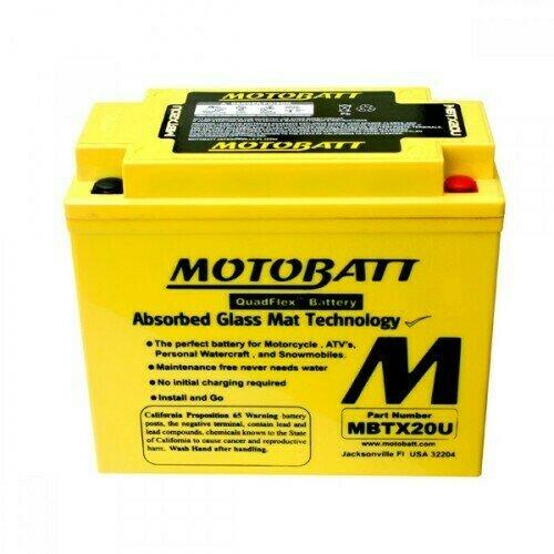 Batteria per moto MBTX20U