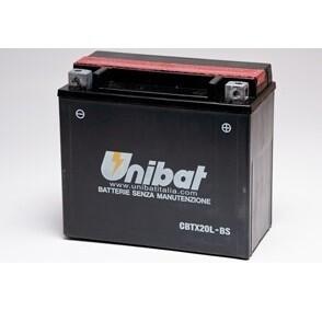 Batteria per moto CBTX20L-BS