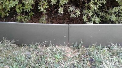 Bordo in lamiera zincata h 16 cm x 200