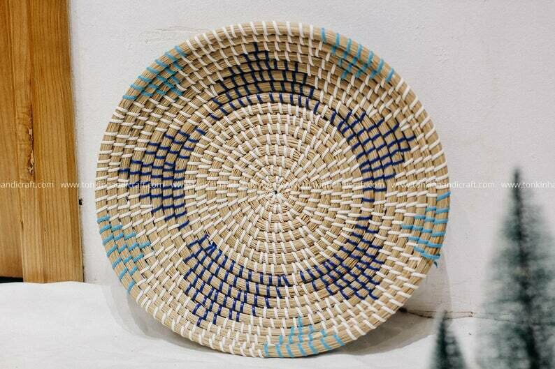 Seagrass weaving handmade Wall decoration